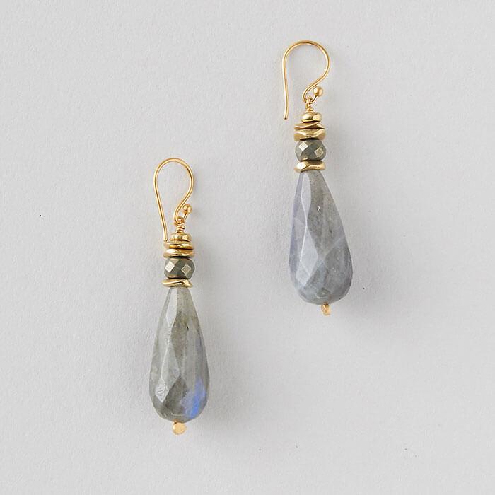 Terrain Labradorite Drop Earrings