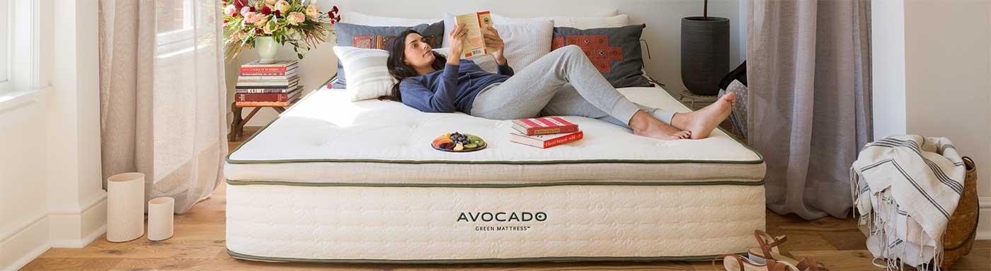 Avocado Green Natural Latex Mattress