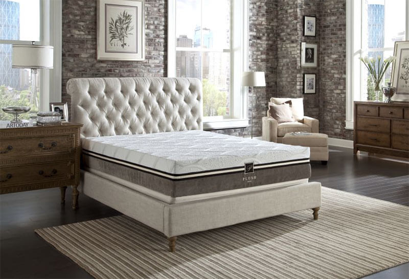 PlushBeds Memory Foam Toppers