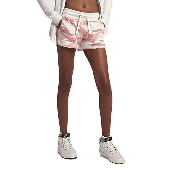 Nike Sportswear Camouflage Print Women's Shorts