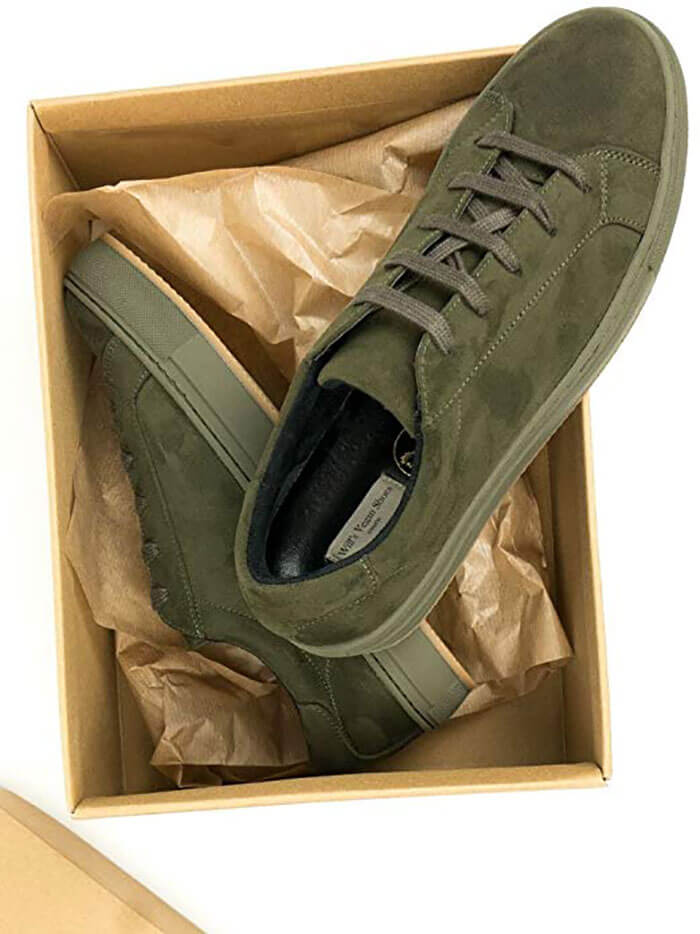 Will's Vegan Shoes Olive