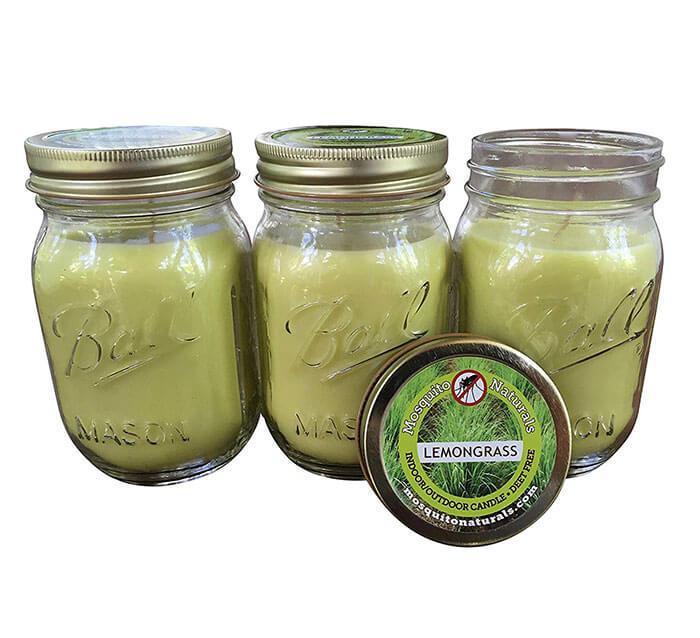 Mosquito Naturals Natural Lemongrass Citronella Mosquito Repellent