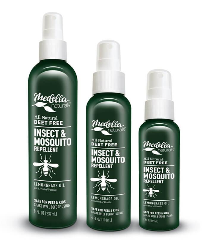 Medella Naturals All Natural Insect Repellent