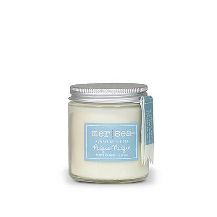Fig Linens and Home Mer Sea Pique Nique Travel Candle