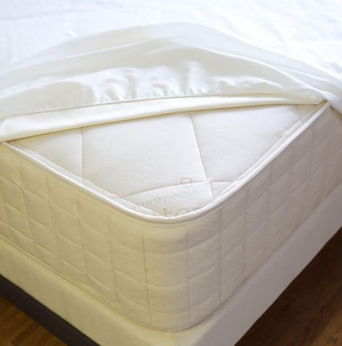 Naturepedic Organic Waterproof Fitted Mattress Pad