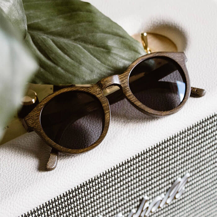 Woodzee Cara Bamboo Sunglasses