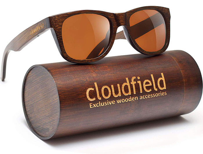 Cloudfield Wood Bamboo Sunglasses