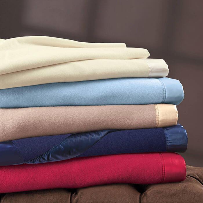 Cuddledown Morley Merino Wool Blanket