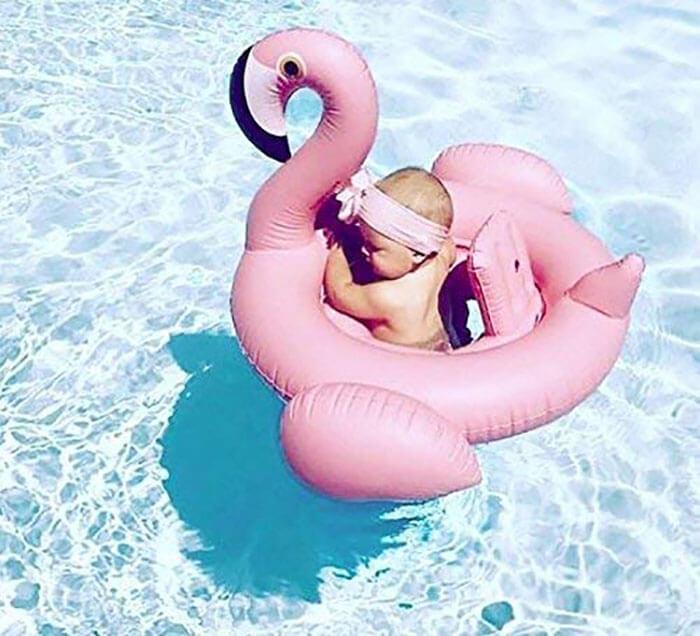 Weefloat Baby Flamingo Float