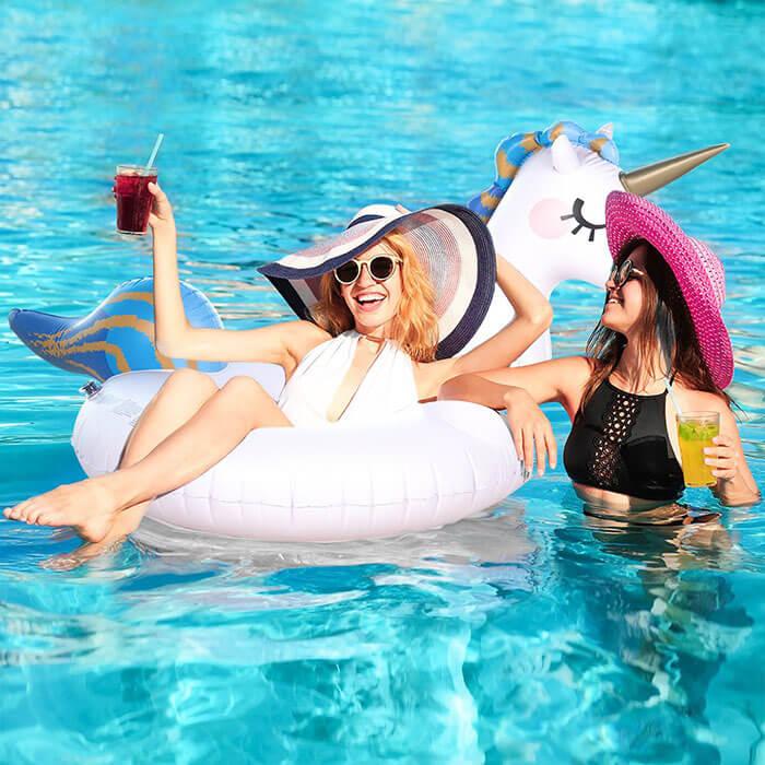Sable Inflatable Unicorn Pool Float