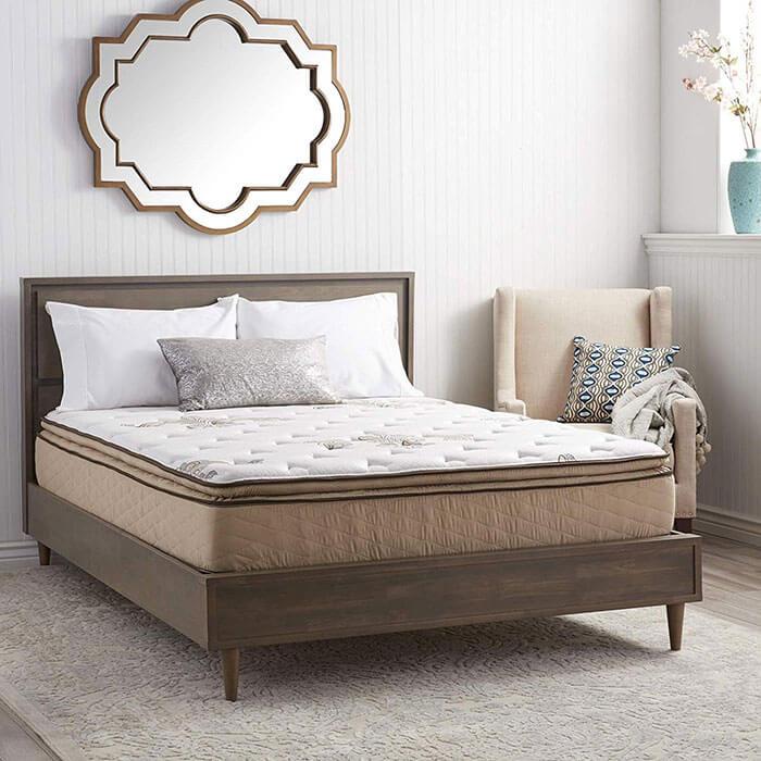 NuForm Quilted Pillow Top 11 Inch Short Queen RV Mattress
