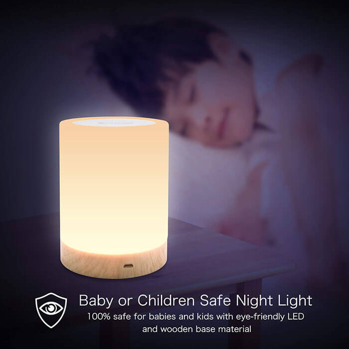 Yisam LED Rechargeable Night Light