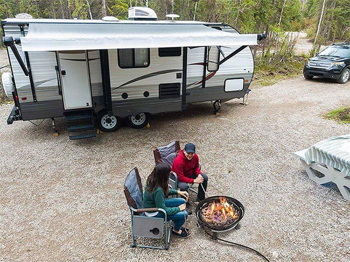 Outland Living Firebowl Outdoor Propane Gas Fire Pit
