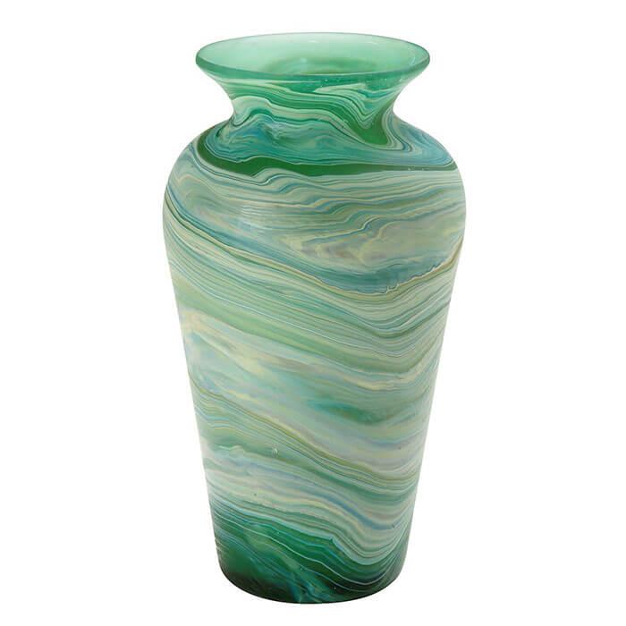 Ten Thousand Villages Deep Currents Vase