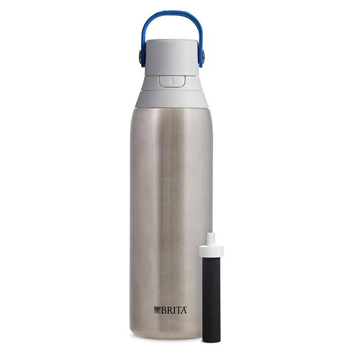 Brita 20 oz Premium Filtering Water Bottle