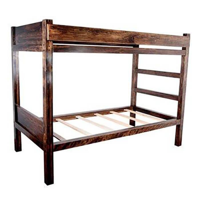 Peazz.com Bradley Brand Furniture Buffalo Bunk Bed