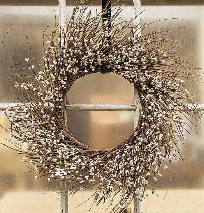 CWI Gifts Pip Berry Twig Wreath