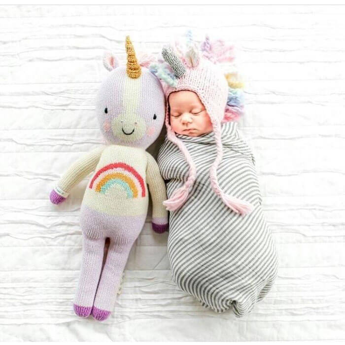 The Natural Baby Company The Blueberry Hill Ella Unicorn