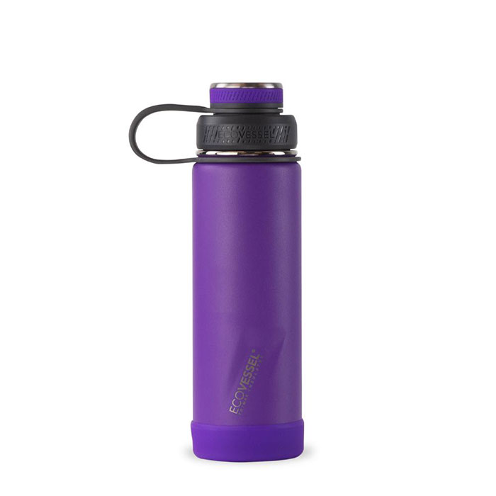 EcoVessel The Boulder Trimax Insulated Water Bottle 20 oz.