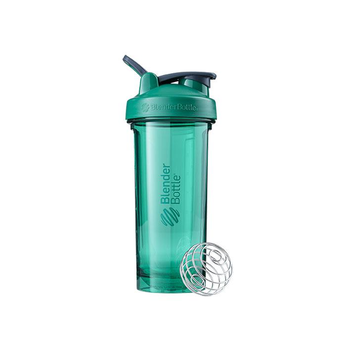 Blender Bottle Pro Series Emerald Green Water Bottle