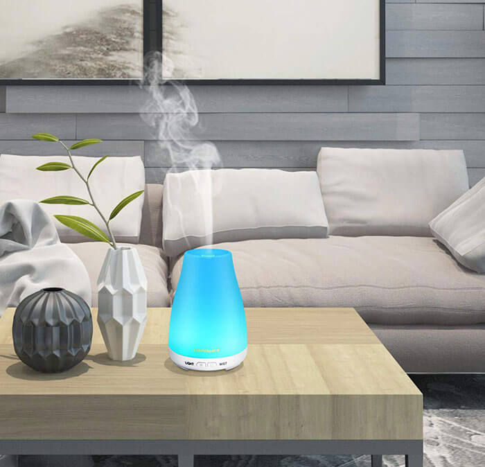 URPOWER Essential Oil Diffuser Humidifier