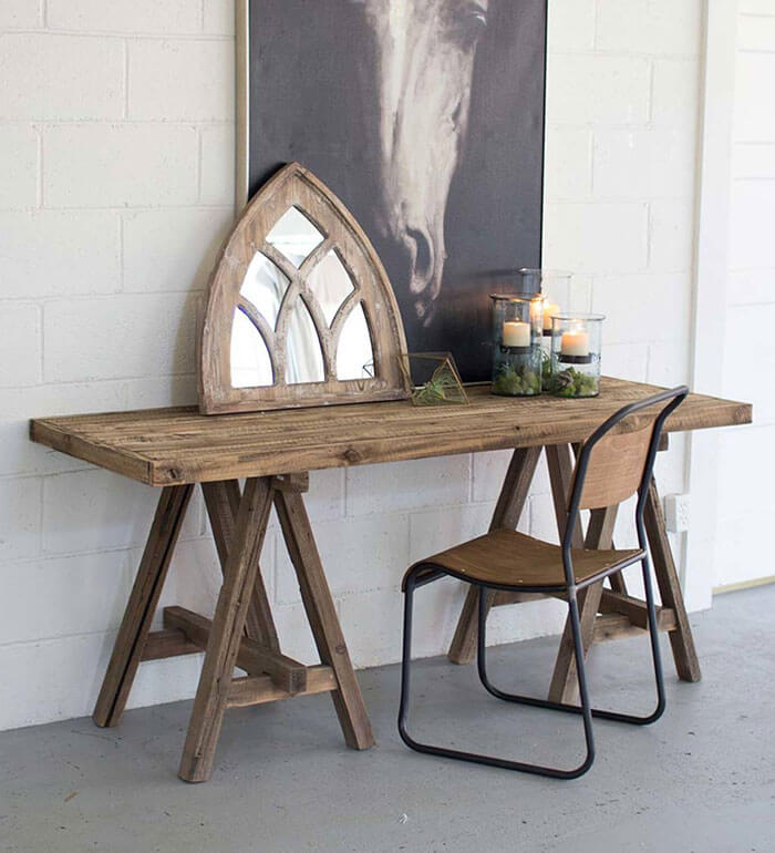Viva Terra Wooden Console Table