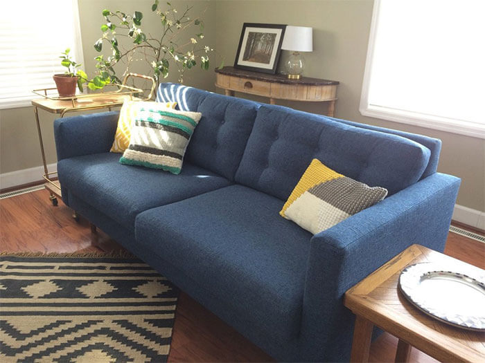 APT2B Logan Drive Apartment Size Sleeper Sofa