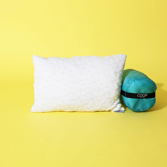 COOP Home Goods Travel and Camping Pillow