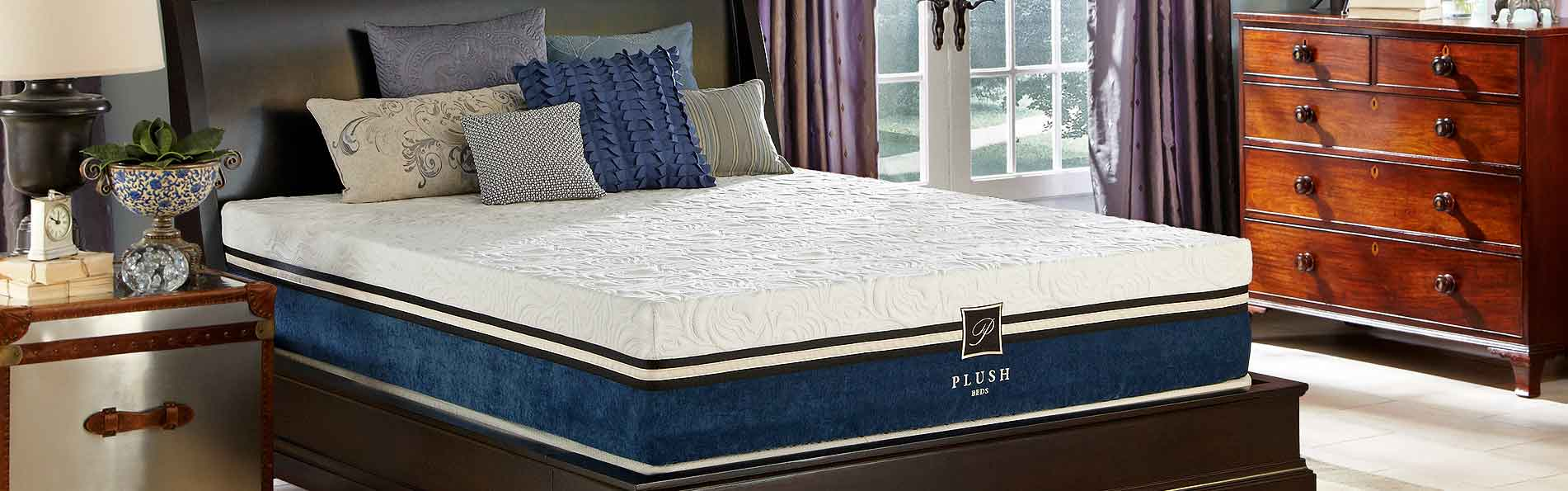Plushbeds 12 Inch Cool Bliss Luxury Memory Foam Mattress
