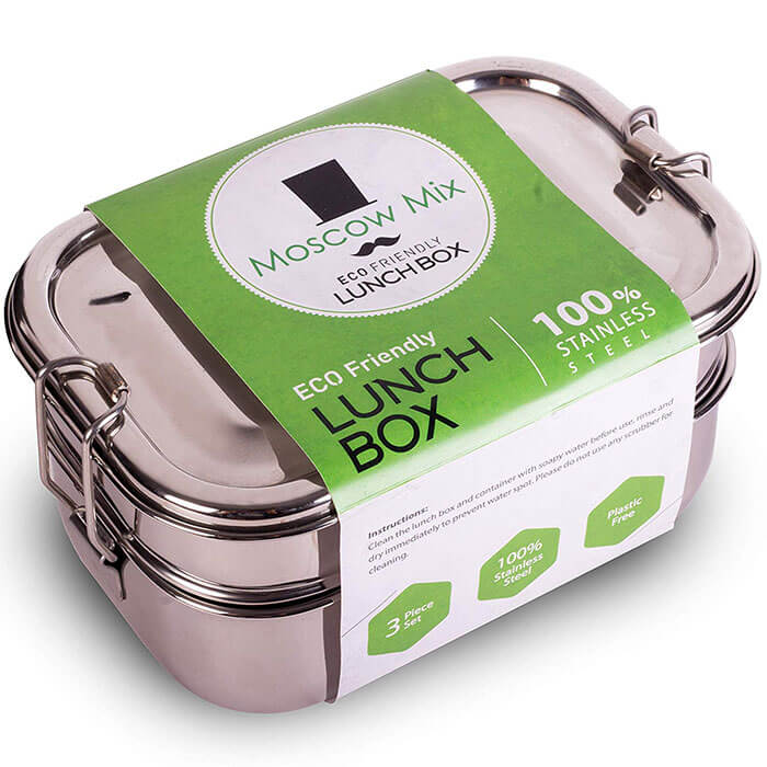 Moscow-Mix Stainless Steel Lunch Box