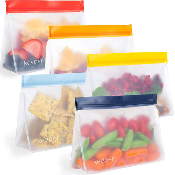 Keeper Life Reusable Snack Bags