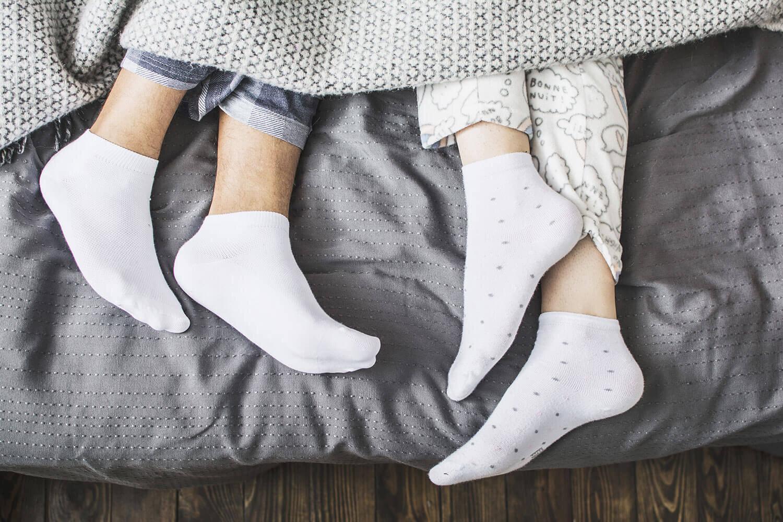 Do You Go To Sleep Wearing Socks?