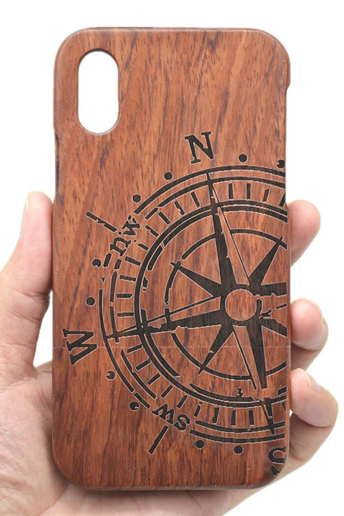 VolksRose iPhone X Wooden Phone Case