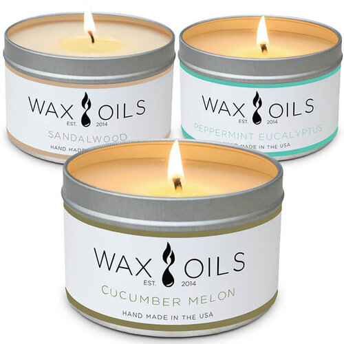 White Scented Jar Candle with Essential Oils honoring the Ancestors Ancestors of Craft Blend Soy Wax Candle Sustainable Vegan Candles