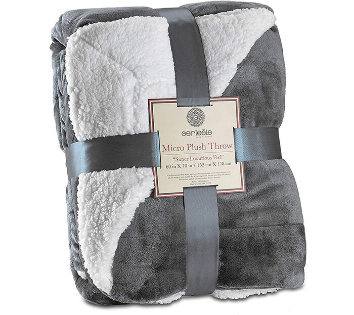The Softest Sherpa Blankets That You Won T Be Able To Stop Touching
