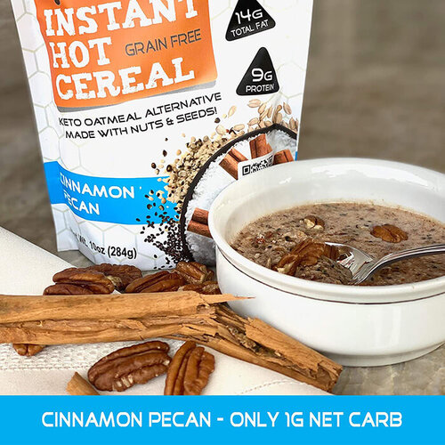 Instant Hot Cereal Low Carb Breakfast
