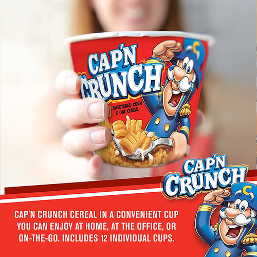 Cap'n Crunch Breakfast Cereal