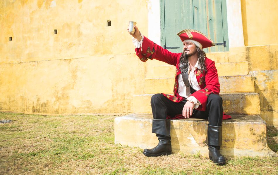 St Croix's Captain Morgan