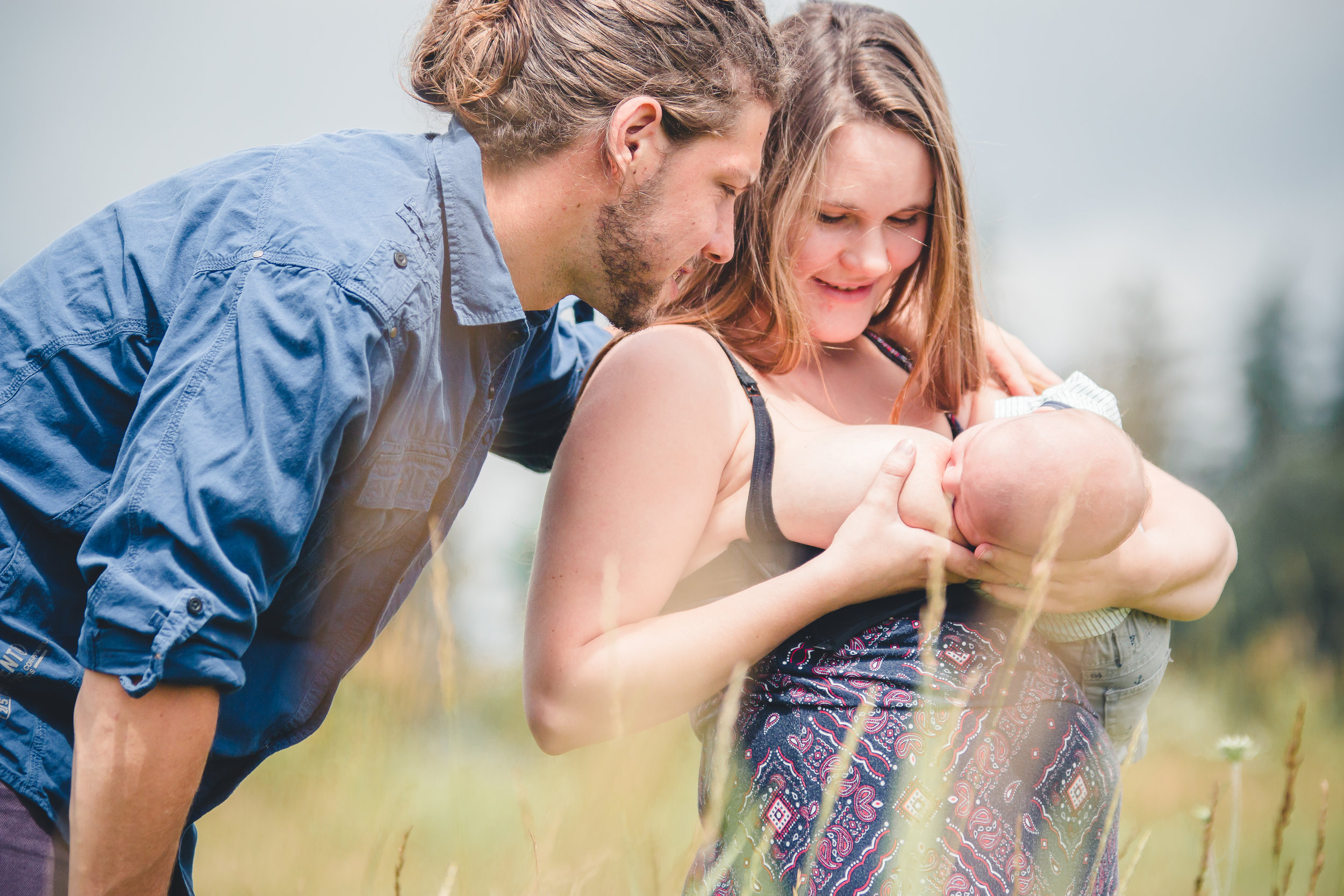 Barrie Newborn Photography- Barrie Birthing Photography- Barrie Maternity Photography- Nursing Photography