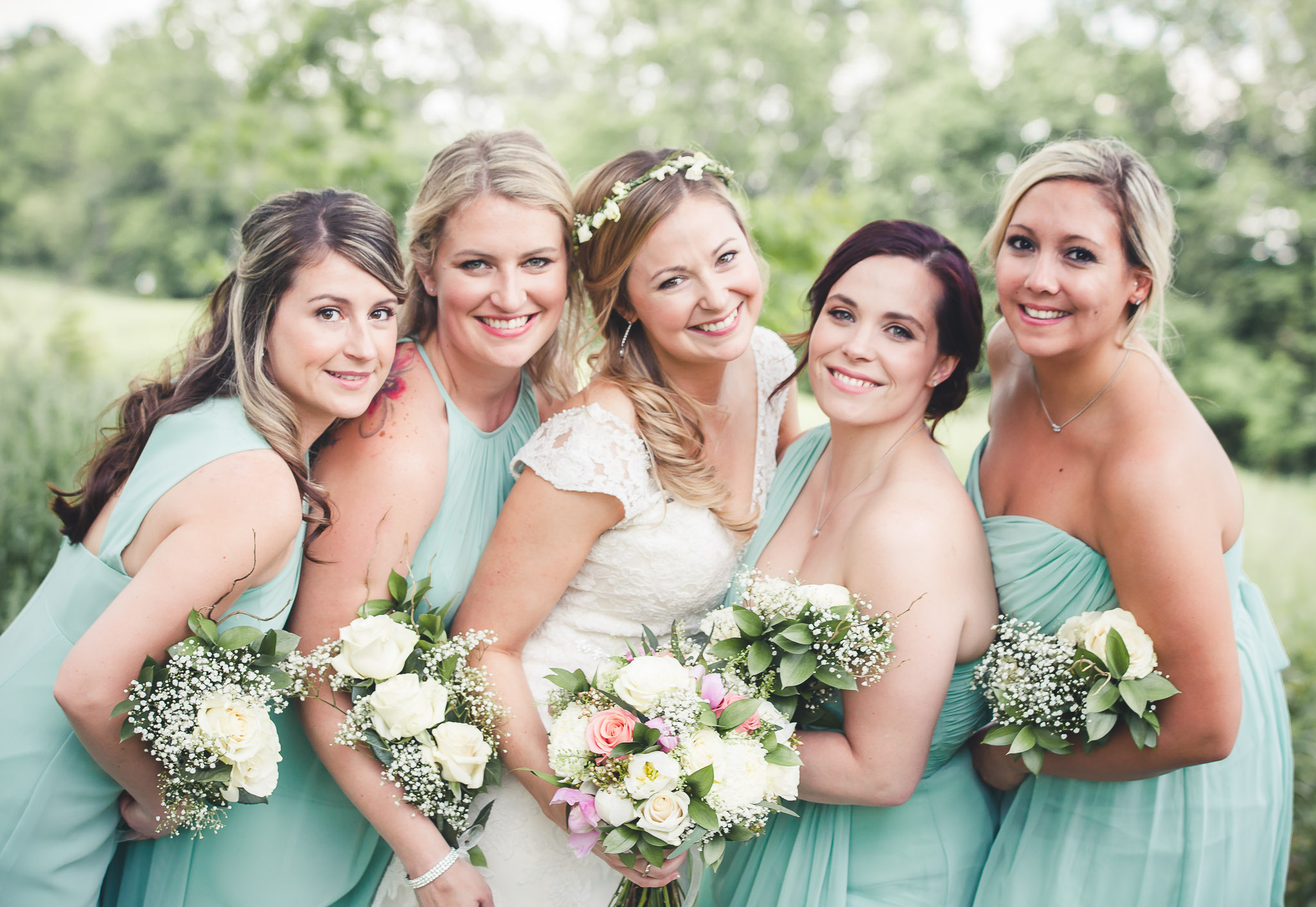 Wedding Party- Bridesmaids- Barrie Country Club