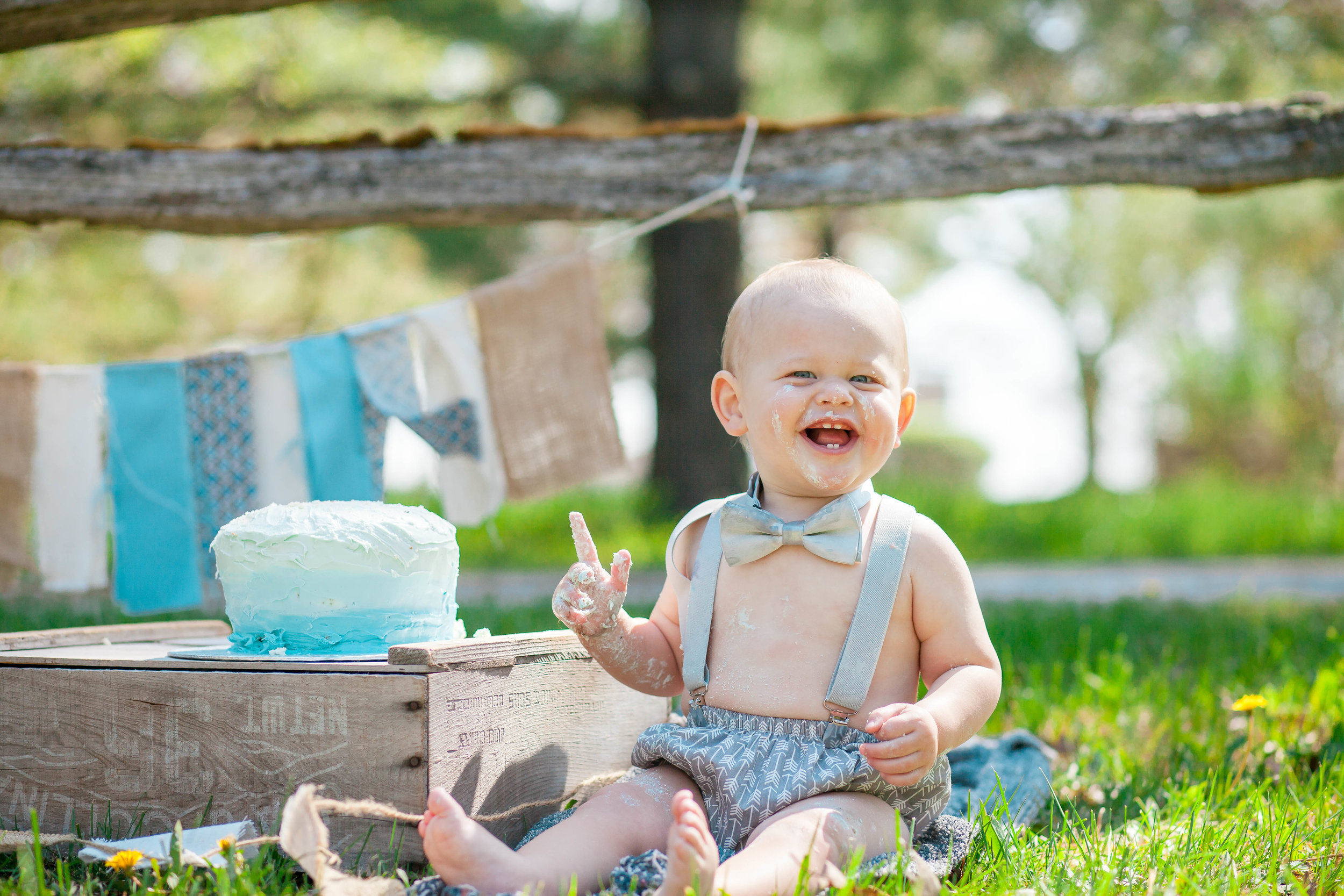 Amy D Photography- Cake Smash- Outdoor Cake Smash- Boys Cake Smash- Outdoor Boys Cake Smash- First Birthday Photos- Family Photography- Children Photography (18 of 67).jpg