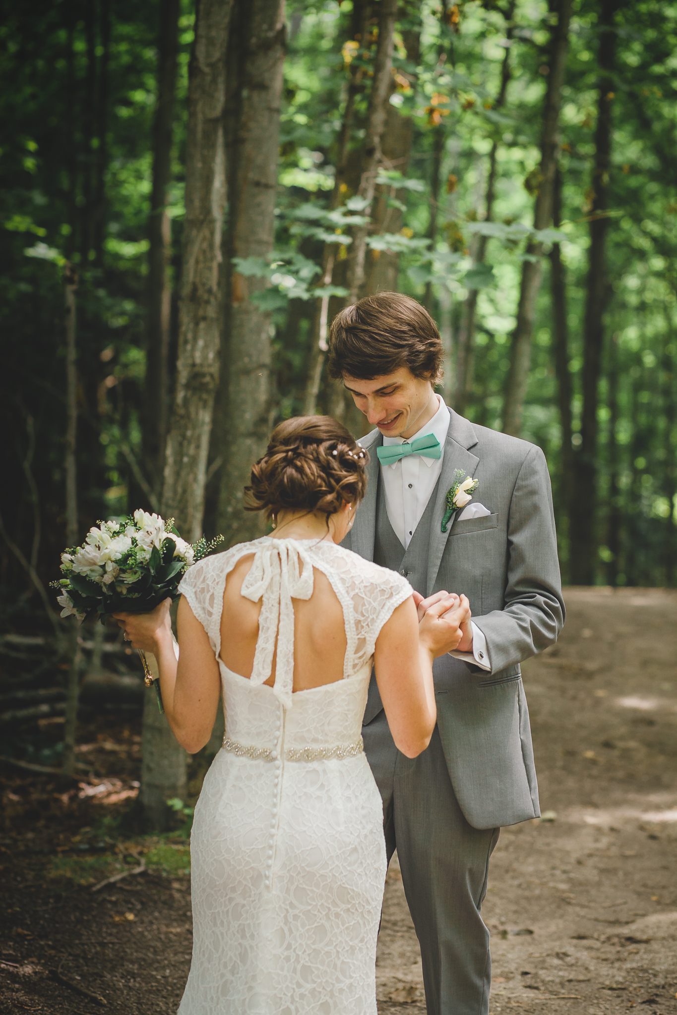 First Look- Amy D Photography- Wedding Photography- Barrie Wedding Photographer - Barrie Wedding Photography- Wedding First Look- First Look Forest-23.jpg