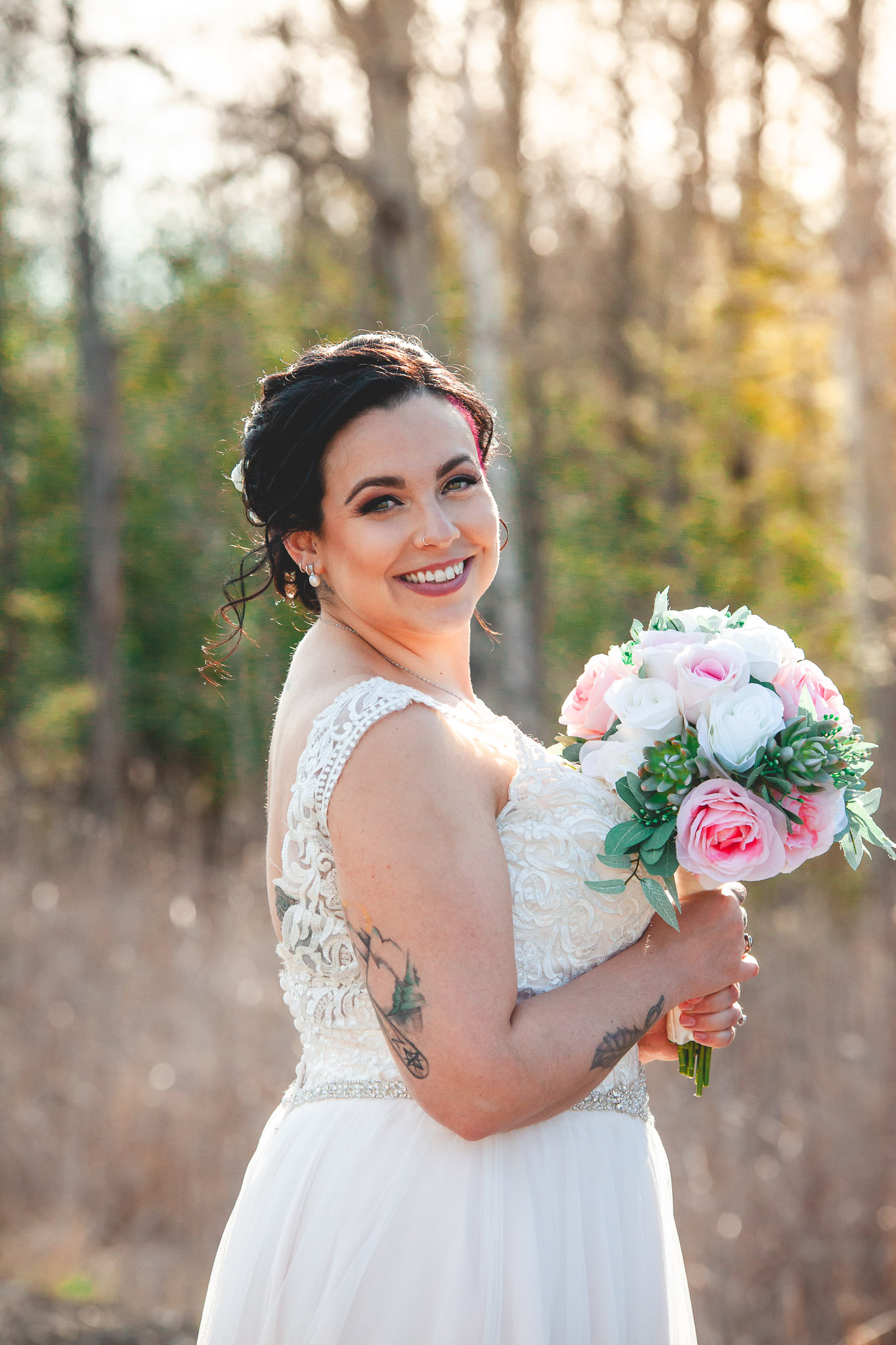 Amy D Photography- Bride and Groom-Barrie Wedding Photography Muskoka Wedding Photography Bride and Groom Poses Bride and Groom Train Tracks Snow Valley Wedding-23.jpg