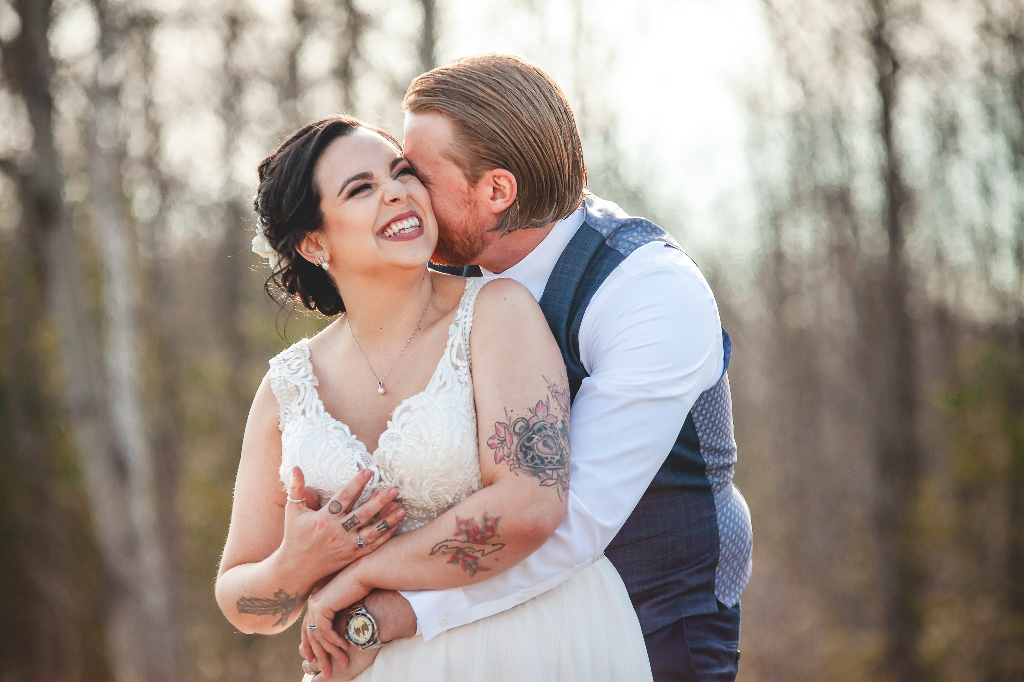 Amy D Photography- Bride and Groom-Barrie Wedding Photography Muskoka Wedding Photography Bride and Groom Poses Bride and Groom Train Tracks Snow Valley Wedding-56.jpg