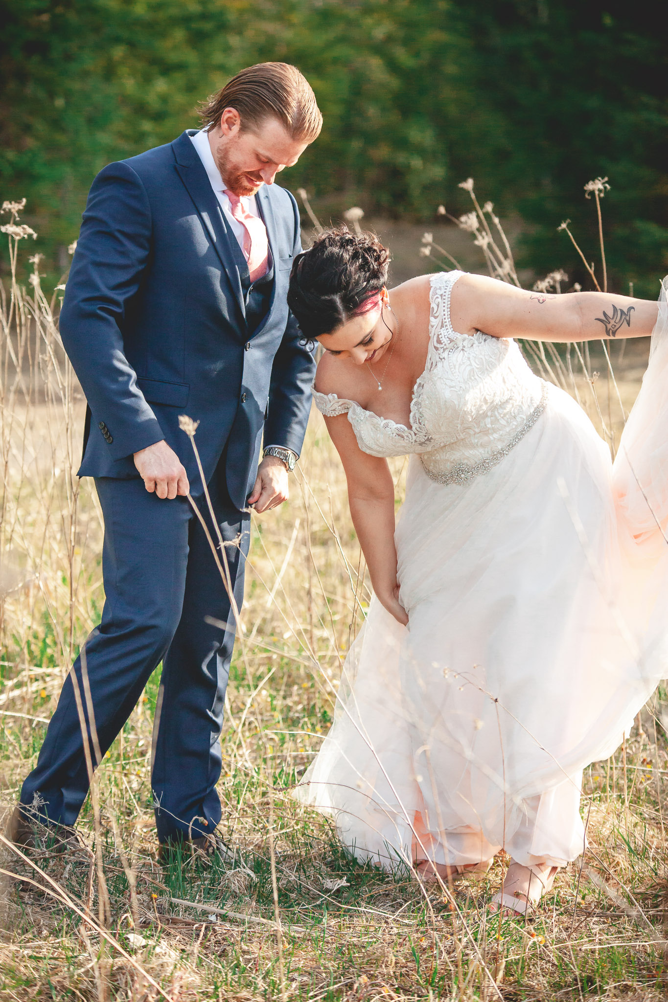 Amy D Photography- Bride and Groom-Barrie Wedding Photography Muskoka Wedding Photography Bride and Groom Poses Bride and Groom Train Tracks Snow Valley Wedding-91.jpg