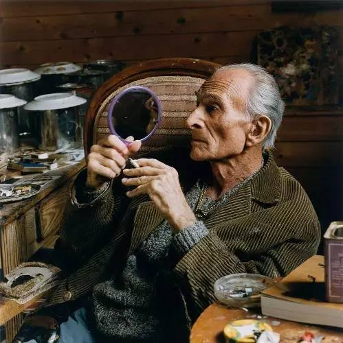 Balthus, February 29, 1908 to February 18, 2001. He lived to be 92 years old.