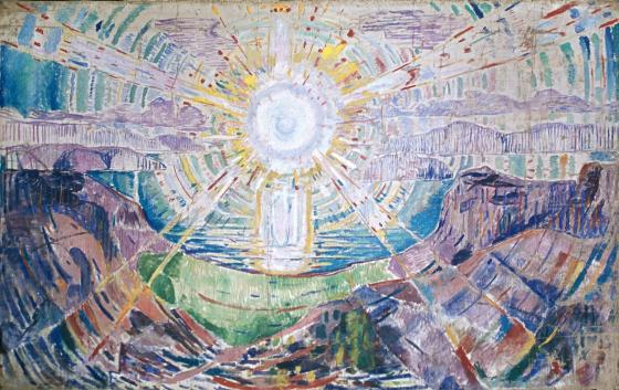 THE SUN Oil on Canvas Oil on Canvas,1912