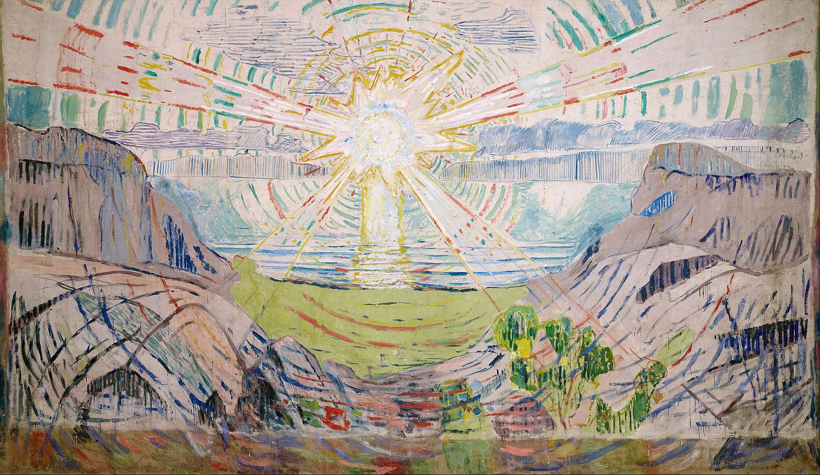 THE SUN  Oil on Canvas, 1910
