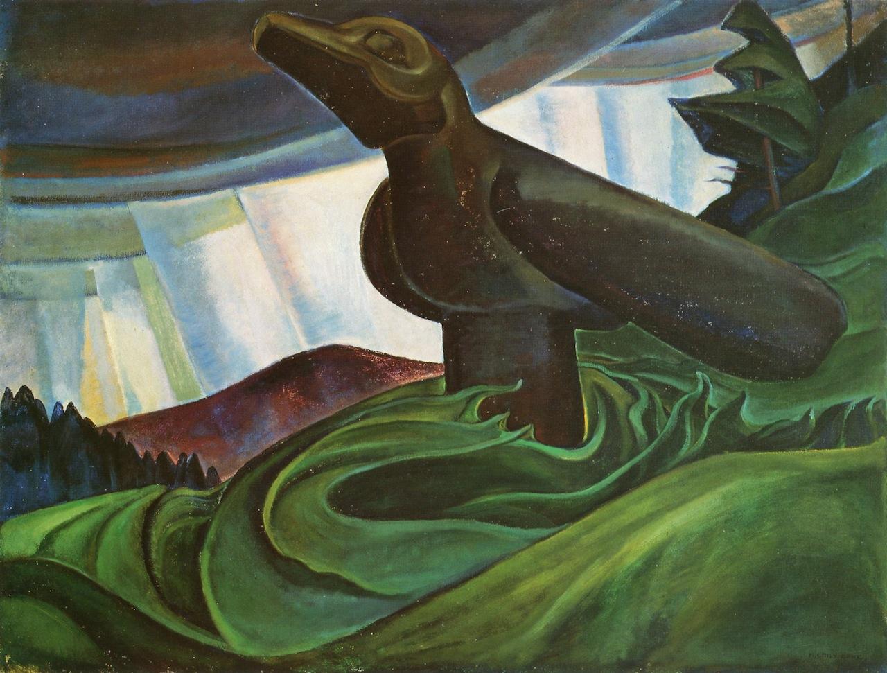 Emily Carr Big raven, 1931 86.7 x 113.8 cm Oil on canvas