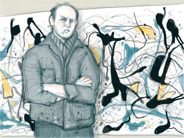 Moxarra  Jackson Pollock  NFS Created at Dada.nyc
